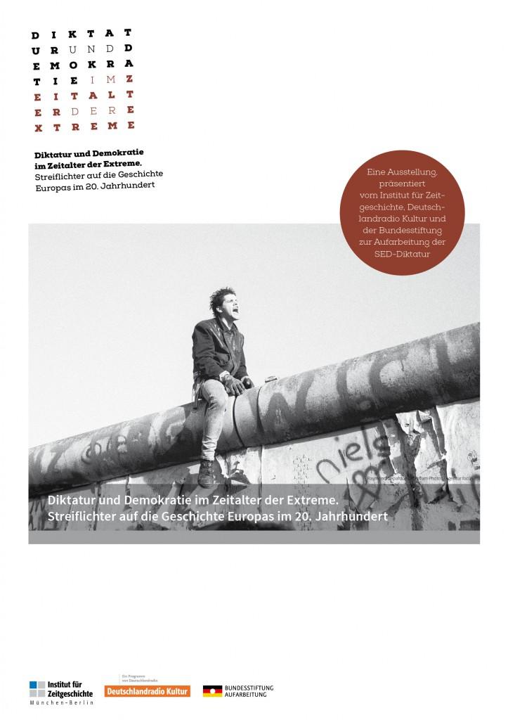 Plakat Diktatur und Demokratie