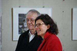 Prof. Dr. Dr. Wolf Krötke mit Jacqueline Boysen