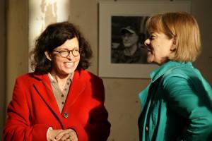 Jacqueline Boysen im Gespräch mit Eva-Maria Menard