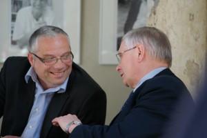 Pfarrer Lothar Wittkopf und Dr. Christian Halbrock