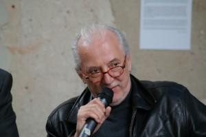 Reinhard Weißhuhn beim Erzählcafé am 4. Mai 2014