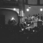 Fürbittengottesdienst in der Gethsemanekirche mit Bischof Gottfried Forck und etwa 1.000 Teilnehmern von der Opposition, Ost-Berlin 7.03.1988  © Ann-Christine Jansson