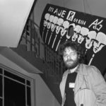 Carlo Jordan einer der bekanntesten Oppositionellen der DDR im Café der Umweltbibliothek in der Zionskirche. Berlin-Ost 28.11.1987  © Ann-Christine Jansson