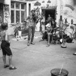 Hoffest in Prenzlauer Berg, Ost-Berlin 13.07.1985 © Ann-Christine Jansson