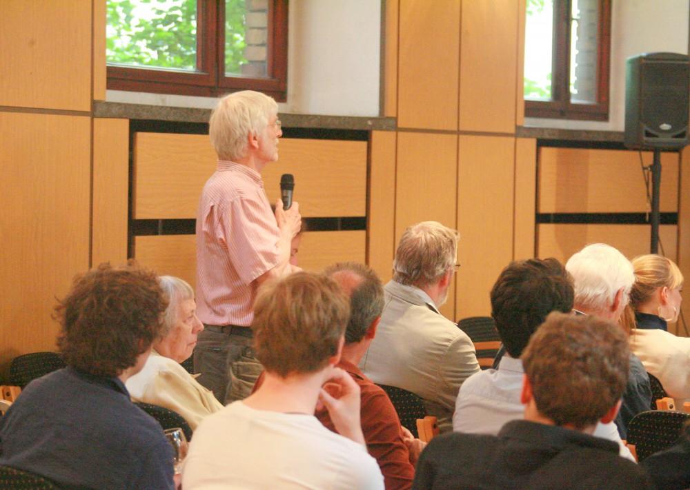 Viele Beteiligte im Publikum kannten das Sprachenkonvikt aus ihrer eigenen Geschichte