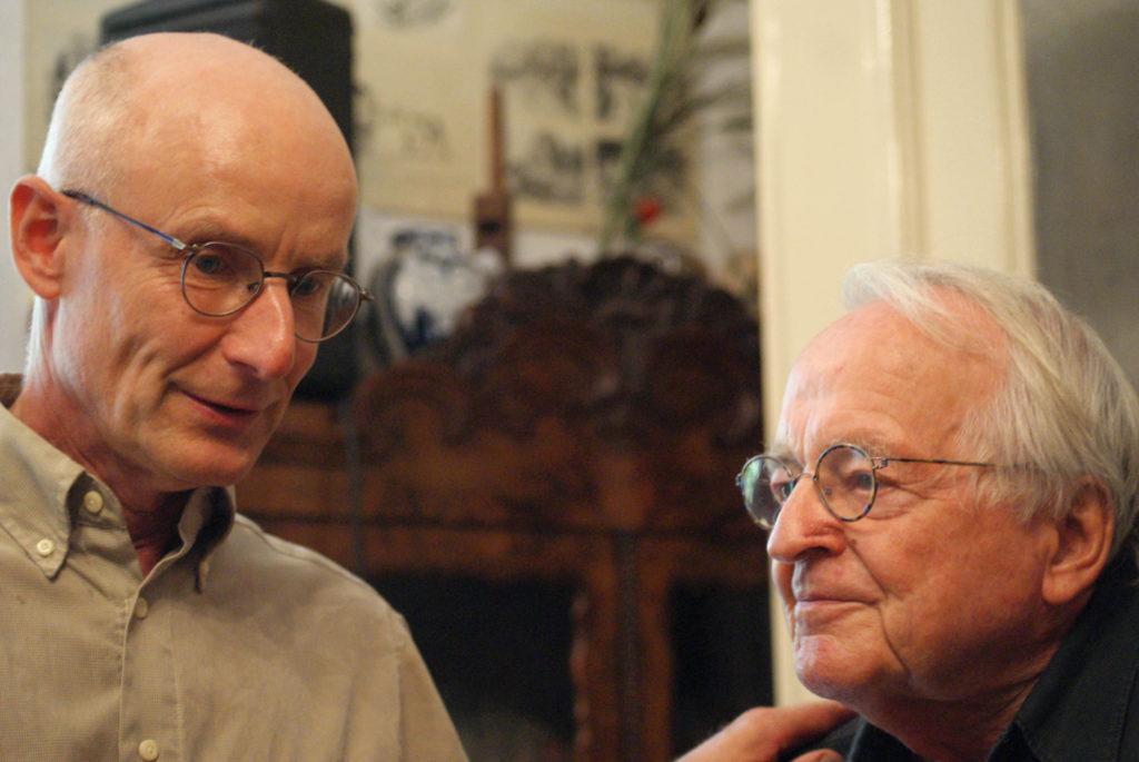 Ekkehard Maaß im Gespräch mit Max Demel