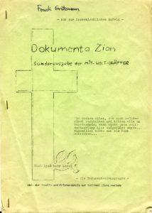 Dokumenta Zion