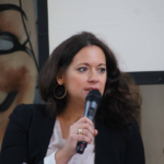 Moderatorin Franziska Günther
