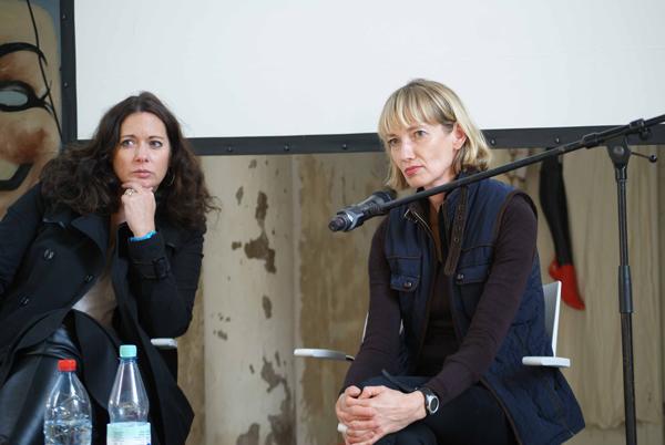 Franziska Günther und Silke Kettelhake